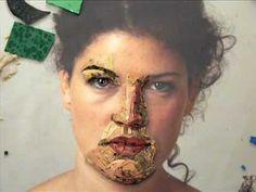 Tile Mosaics, Mosaic Art, Mosaics For Kids, Mosaic Portrait, Stained Glass, Halloween Face Makeup, Sculpture, People, Crafts