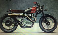The idea... Yamaha XT 250 1981
