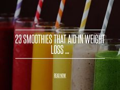 23 Smoothies That Aid in Weight Loss ... - Weightloss [ more at http://weightloss.allwomenstalk.com ] Smoothies that aid in weight loss offer a delicious, nutritious way to lose weight. Plus, do you know how many weight loss smoothies there are? I had no idea that there were so many – and that so many of them were so delicious! For me, this is like a revelation, because I have a confession to make: I have a total sweet tooth. That's w... #Weightloss #Chocolate #Recipe #Natural #Breakfast…