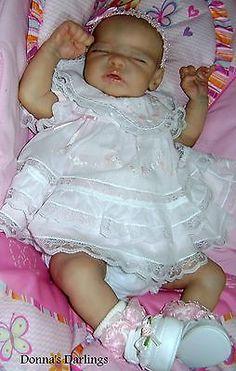 So Real Reborn Baby art doll girl Quinlynn sculpt by LauraLee Eagles LTD 222/800