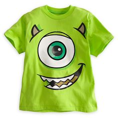 Mike Wazowski Tee for Boys - Deluxe Storytelling | Tees, Tops & Shirts | Disney Store