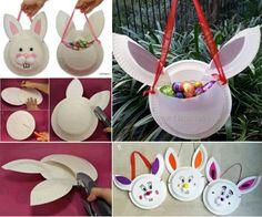Easter Bunny Basket Tutorial