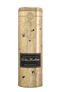 Crown Aerosols and Speciality Packaging Europe is manufacturing the two newly designed metal tins for the Nicolas Feuillatte Champagne brand.