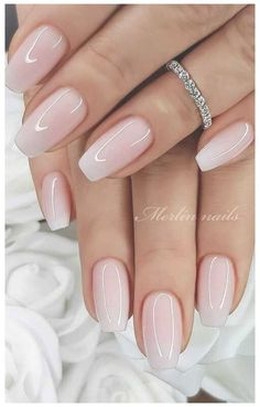 Best simple & elegant wedding nails for bride classy bridal, simple wedding nail designs for bride, classy wedding nail art design for bride! Looking for light pink wedding nails, simple bridal nails wedding brides or short light pink nails with silver glitter ? Find simple wedding nails for bride gel and wedding nails for bride bridal, wedding nails for bride acrylic #coffinnails #weddingnails #weddingnailsdesign #weddingnailsforbride #bridalnails #lightpinknails #shortnails #whitenails… Winter Wedding Nails, Pink Wedding Nails, Wedding Nails For Bride, Bride Nails, Wedding Nails Design, Simple Acrylic Nails, Simple Nails, Simple Bridal Nails, Nail Art Designs