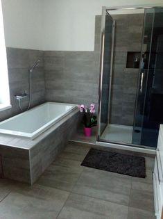 Koupelna - Inspirace   Modrastrecha.cz Corner Bathtub, Bathroom, House, Apartment Bathroom Design, Bath, Washroom, Home, Full Bath, Bathrooms