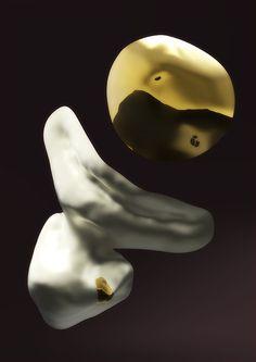 Dutch Invertuals exhibition ADVANCED RELICS visuals by Bastiaan de Nennie