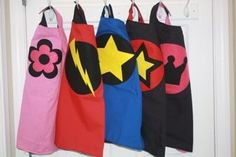 Superhero capes for the kids (again, hopefully I can make these)