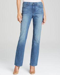 Nydj Marilyn Straight Jeans in Bellevue