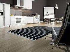 One of our popular carpets Dorri stripe, see more of these carpets at CarpetVista.com