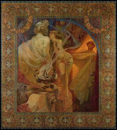 "❤ - Alphonse Mucha | ""Quo Vadis"" - 1902."