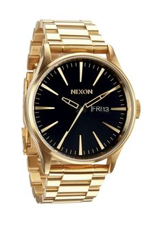Reloj Nixon Sentry SS Gold/Black