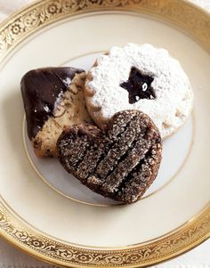 The chocolate spice cookies are a little tricky to make (half the recipe!) but DEVINE.  Do it.  Chocolate cookie ideas Elegant Details