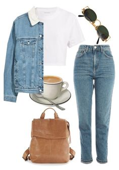 """""""""""Difficult doesn't mean impossible. It simply means you have to work hard."""""""" by redapplecigarettes ❤ liked on Polyvore featuring Hanes, Aimee Kestenberg, Topshop and Jean-Paul Gaultier"""