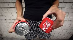 """Coca-Cola: Introducing, the sharing can. A creative campaign to """"share happiness"""", Coca-Cola style."""
