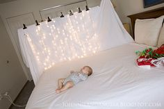 Johnnie and Angela: Taking Baby Christmas Photos