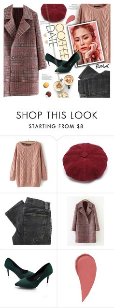 """""""Romwe. Coffee Date."""" by imurzilkina ❤ liked on Polyvore featuring Nudie Jeans Co., Chanel, romwe and CoffeeDate"""