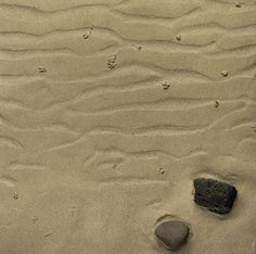 The Boyle Family 3D Painting - Study of Rippled Sand and Rocks with Worm Casts, Hebrides