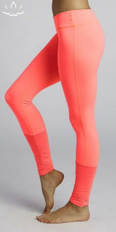 Rhythm Legging in Coral Fusion by BEYOND YOGA - Barre Class Trend Guide