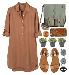 """""""Dreshirt"""" by time-new-roman ❤ liked on Polyvore featuring United by Blue, Steve Madden, Patricia Nash, Oliver Peoples and Blazin Roxx"""