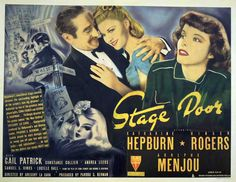 Stage Door: Katherine Hepburn, Ginger Rogers & Lucille Ball. A Must See!