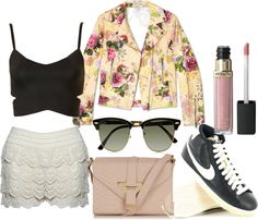 """I don't even know"" by pleatsandpolkadots on Polyvore"
