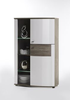 Display Cabinet Corona - Door Right Modern Elegance To Your Home ... Wohnzimmer Vitrine Modern