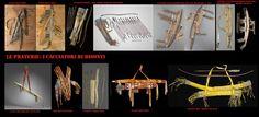 Le faretre e le custodie per gli archi erano generalmente più o meno decorate. Alcune faretre potevano contenere fino a 100 frecce generalmente lunghe poco più di 60 cm..