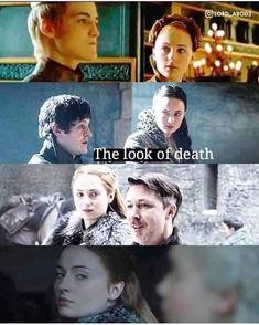 Sansa has given Daenerys the look, this does not bode well? Season Game of… Sansa has given Daenerys the look, this does not bode well? Season Game of Thrones. Game Of Thrones Show, Game Of Thrones Jokes, Game Of Thrones Sansa, Cersei Lannister, Daenerys Targaryen, Sansa Stark, Sophie Turner, Jon Snow, Facebook Group Games