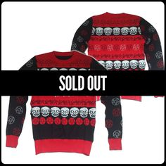 How am I supposed to hail Satan this christmas when this sweater is sold out? Fml