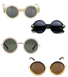 57512a3020 Round sunglasses on we heart it   visual bookmark