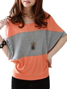 Round Neck  Assorted Colors Short-sleeve-t-shirts Short sleeve T-shirts from fashionmia.com