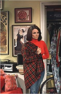 I loved Rhoda. She was so outgoing and assertive. I admired her.