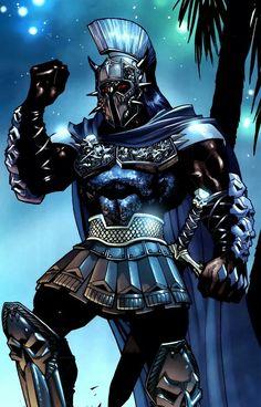 Wonder Woman foe Ares Greek Olympian God of War