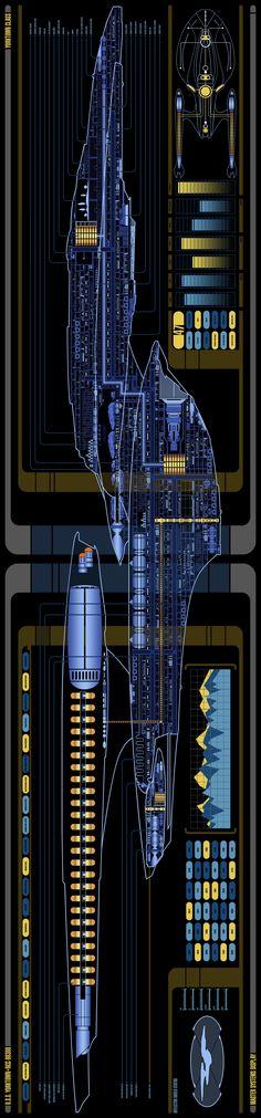 Yorktown from Star Trek Online Star Trek Enterprise, Star Trek Voyager, Vaisseau Star Trek, Star Trek Universe, Marvel Universe, Star Trek Bridge, Uss Yorktown, Star Trek Online, Starfleet Ships