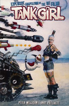 The Tank Girl story as told in the film staring Lori Petty. Tank Movie, Tank Girl Comic, Quarantine Movie, Lori Petty, Jet Girl, Punk Poster, Fiction Movies, Pulp Fiction, Science Fiction