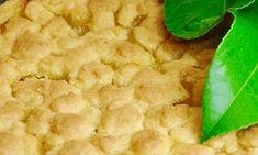 Easy Crustless Lemon Tart - Recipe Winners Lemon Dessert Recipes, Apple Cake Recipes, Lemon Recipes, Tart Recipes, Pudding Recipes, Hot Desserts, Sweet Recipes, Cooking Recipes, Lemon Curd Cake