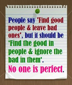 Find good people