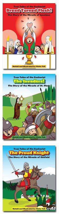 Great books to explain the Eucharist to children.