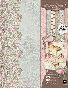 Spun Sugar - Artful Card kits - click thru to see project ideas!