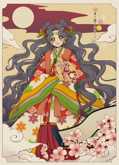 Luna, by Hanarain Arte Sailor Moon, Sailor Moon Fan Art, Sailor Moon Usagi, Sailor Moons, Sailor Jupiter, Sailor Venus, Sailor Moon Quotes, Luna And Artemis, Sailor Moon Wallpaper