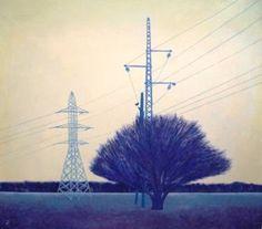 """Saatchi Art Artist Katerina Gorokhova; Painting, """"field"""" #art"""