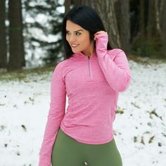BARA - Pink Long Sleeve Sportswear, Athletic, Long Sleeve, Sleeves, Nature, Pink, Jackets, Collection, Fashion