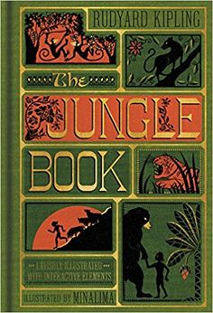 The Jungle Book (Illustrated with Interactive Elements): Amazon.co.uk: Rudyard Kipling, Minalima Ltd.: 9780062389503: Books