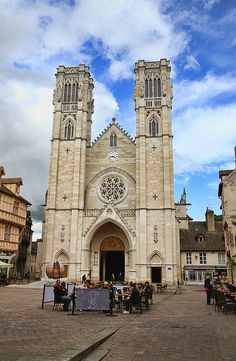 ˚Cathedral St Vincent In Chalon-sur-Saone - France