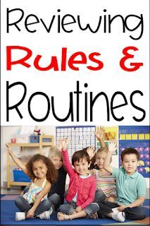 Reviewing Classroom and School Routines and Procedures