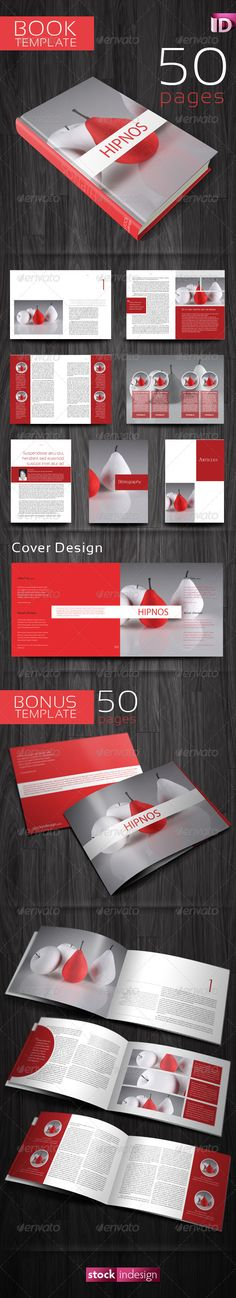 Flat product catalog brochure a well flats and color for Indesign templates for books