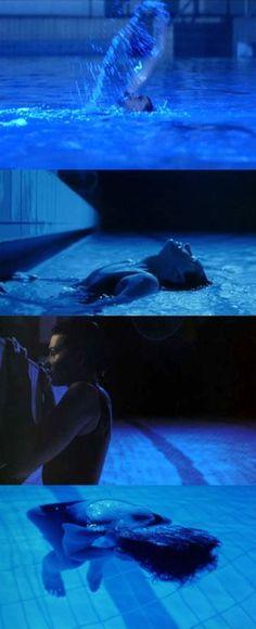 Juliette Binoche in Trois couleurs: Bleu (Three Colours: Blue), 1993 (dir. Krzysztof Kieślowski) via moviesinframes