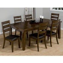 Coventry 5 Piece Dining Set includes 4 Side Chairs by Morris Home Furnishings at Morris Home Mango Wood Dining Table, Dining Table In Kitchen, Dining Table Chairs, Upholstered Dining Chairs, Dining Furniture, A Table, Home Furniture, Trestle Table, Side Chairs