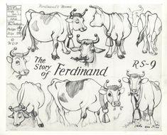 Michael Sporn Animation – Splog » Ferdinand Models