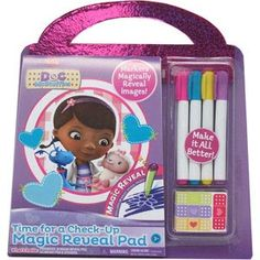 Disney Doc McStuffins Time for a Check-Up Magic Reveal Pad Baby Girl Toys, Toys For Girls, Sofia The First Birthday Party, Sofia Party, Frozen Birthday, 2nd Birthday, Doc Mcstuffins Toys, Hello Kitty Bed, Magic Revealed